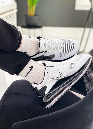 "Nike air max 720 2020 ""black/white"" мужские кроссовки найк аир..."