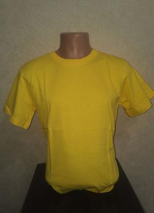 Футболки | футболки хлопковые | футболка желтая | футболки опт
