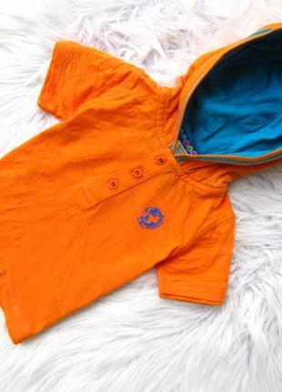 Стильная футболка с капюшоном baker baby