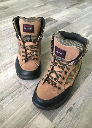 Обувь на зиму зимняя. ботинки gore-tex. winter.  vibram