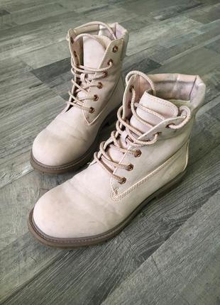 Ботинки типа timberland женские