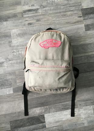 Рюкзак сумка vans женская.