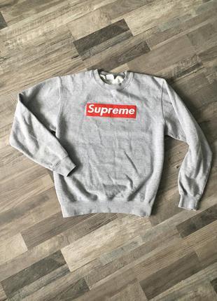 Свитшот supreme кофта свитер