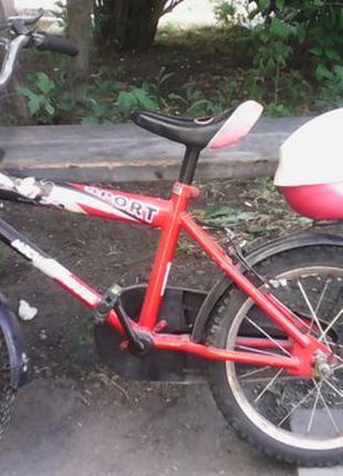 """Детский велосипед, колеса 16"""""""