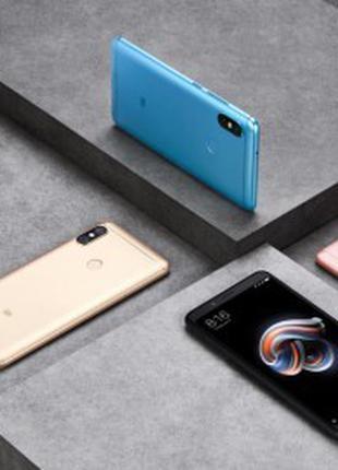 Xiaomi Redmi Note 5 3/32Gb Black. Blue. Gold, Pink