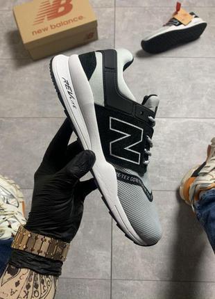 Мужские кроссовки new balance 247 gray black😍