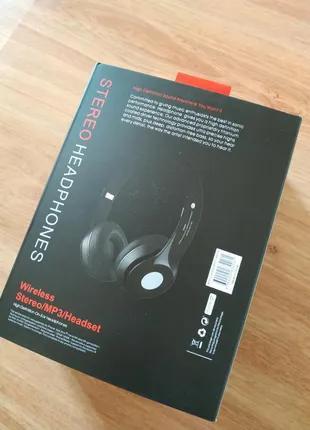 Беспроводные, наушники, S460, Bluetooth, MP3, FM, AUX