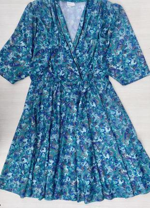 Красивое платье миди с юбкой солнце клешь большого размера