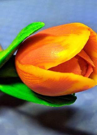 Ручка шариковая цветок тюльпан. Прикольный Подарок. Голландия