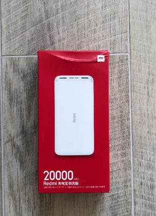 Redmi Power Bank 20000 mAh Micro-USB/USB-C (PB200LZM) (2USB) W...