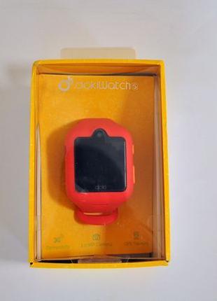 Детские смарт-часы Doki Watch S Dazzle Pink с GPS-трекером и в...