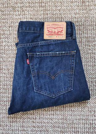 Levi's 505 джинсы оригинал (w34 l30)