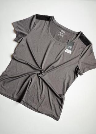 Футболка crivit спортивная со вставками сетки,одежда для фитнеса