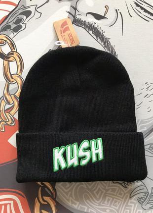 Шапка kush dope smoke хип хоп hip hop стиль