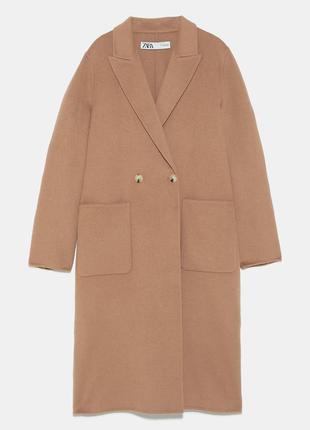 Бомбическое пальто от zara cemel