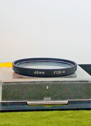 №260 Светофильтр бесцветный Hama 49 mm FOG - A 7 Германия Футляр