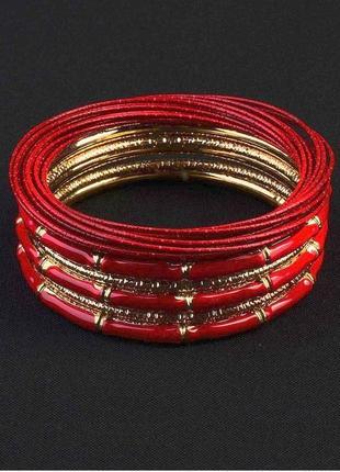 🏵красивый наборной многослойный браслет (набор браслетов), уце...