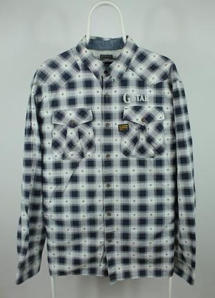Шикарная оригинальная рубашка g-star raw