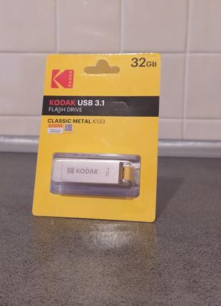Металева USB 3.1 флешка Kodak 32gb