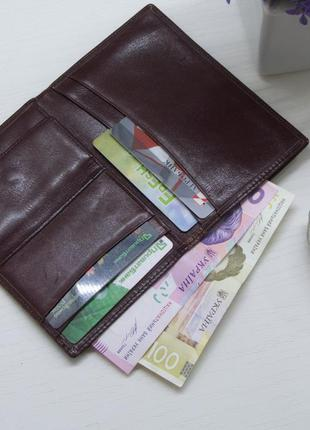 Мужской бумажник, кошелек, портмоне, roddy, натуральная кожа, ...