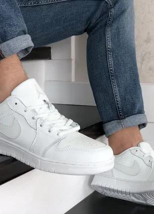 Nike Air Jordan 1 Low кроссовки