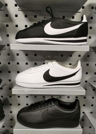 Оригинальние кроссовки Nike Classic Cortez Leather 749571002 (...