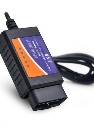 Диагностический сканер elm327 USB