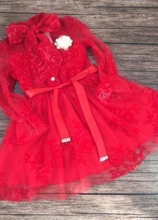Красивое, нарядное платье для девочки