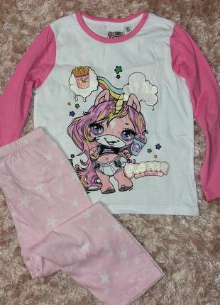 Пижама для девочки 5-6 лет