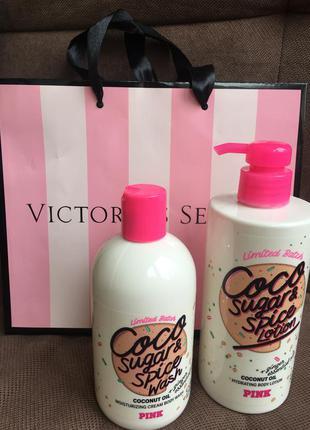 Гель для душа victoria's secret pink coco