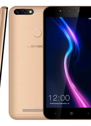 "Leagoo POWER 2 PRO Gold 5.2"" RAM: 2/16Gb Quad-core 3200 mAч"