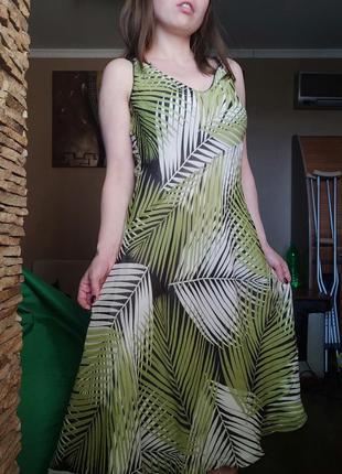 Платье натуралтный шелк