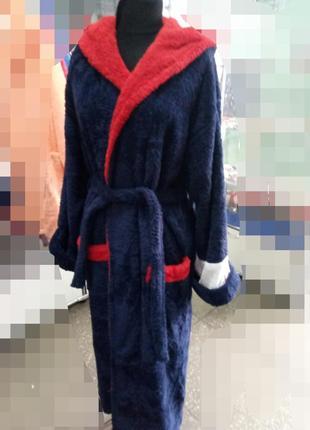Махровый мужской халат