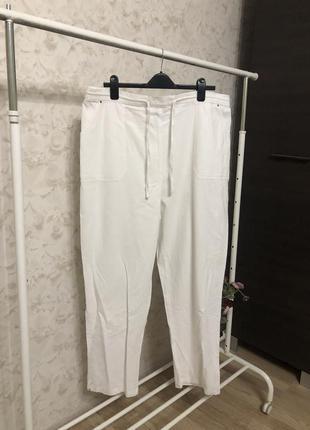 Белые хлопковые брюки yours!