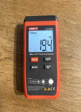 Инфракрасный термометр пирометр UNI-T UT306A
