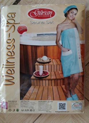 Женский набор для бани, сауны. пр-во турция