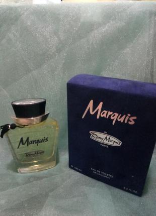 Remy marquis marquis мужская туалетная вода 100мл
