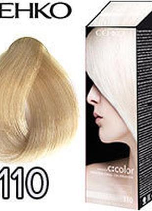 Крем-краска для волос cehko c:color тон №110 платиновый блондин