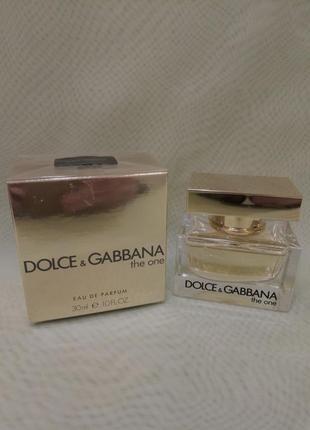 Dolce&gabbana the one,30ml,оригинал. женская парфюмированная в...