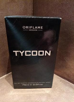 Oriflame tycoon мужская туалетная вода,75мл