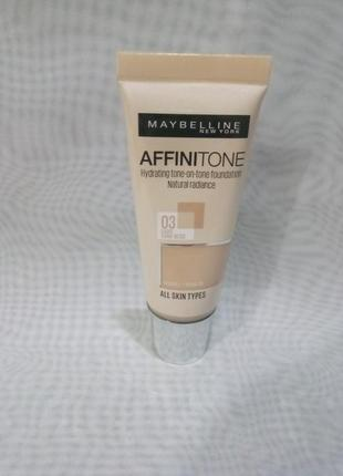 Affinitone 03тон,тональный крем maybelline