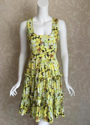 Dolce and gabbana оригинал италия дизайнерское платье сарафан ...