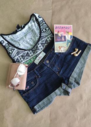 Женские джинсовые шорты hollister