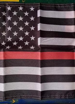 Флаг полиции америки