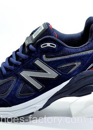 Кроссовки мужские New Balance 990 Classic, Темно-Синие, купить