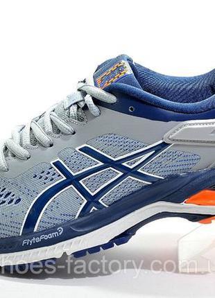 Кроссовки для бега Asics Gel Kayano 28, Серые, купить со скидкой