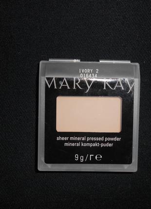 Компактная Минеральная пудра Mary Kay - Ivory 2