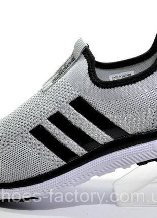 Мужские слипоны Adidas, Серый, купить со скидкой