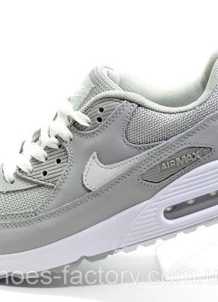 Кроссовки мужские Nike Air Max 90, Серый/Белый, купить