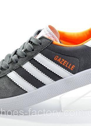 Кроссовки унисекс Adidas Gazelle OG, Серый/Оранжевый, купить